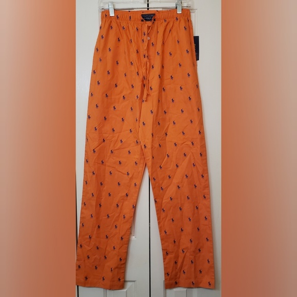 Polo by Ralph Lauren Other - POLO RALPH LAUREN Allover Pony Pajama Pant S